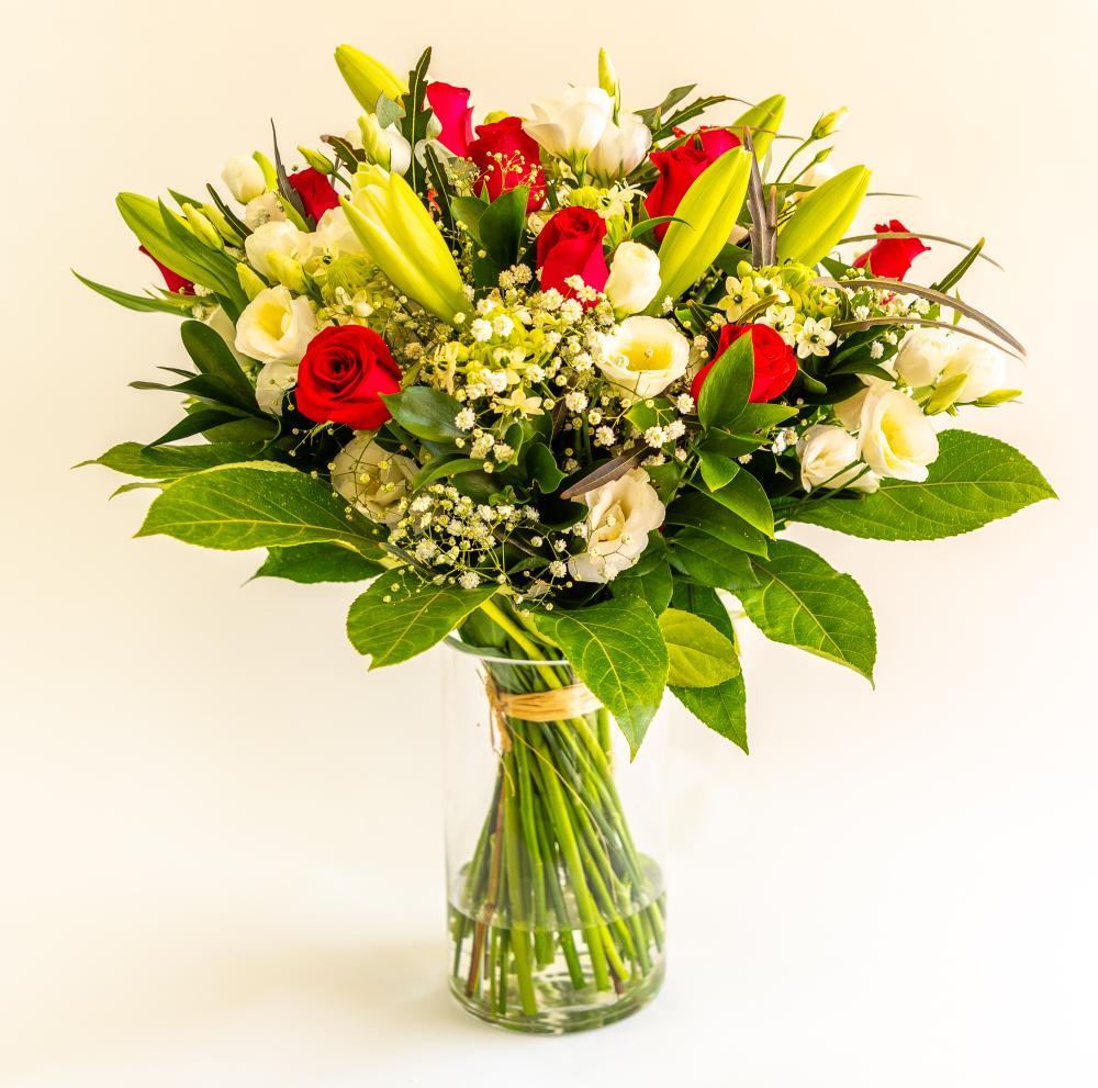 זר פרחים 4 - ויקטוריה - לוד