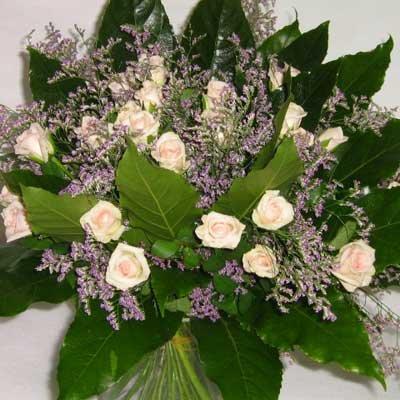 זר ורדים ורוד בייבי - פרחי אוריינטל - אור יהודה