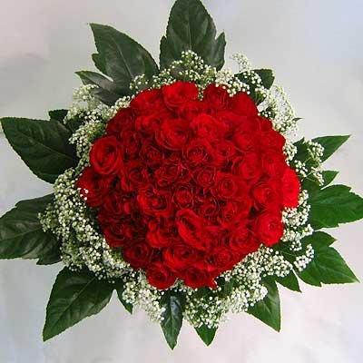 זר ורדים 16 - פרחי אוריינטל - אור יהודה