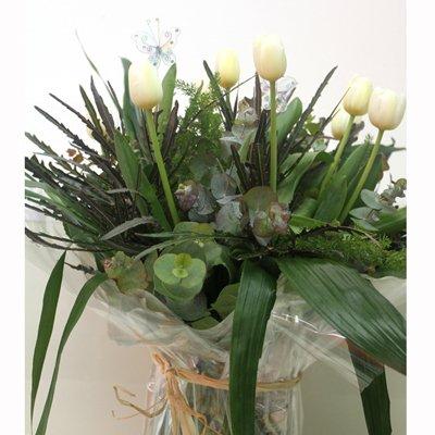 טוליפים מעוצב - פרחי שובל - בלפור 137 בת ים