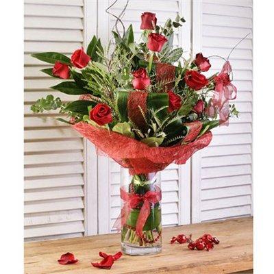 זר ורדים מדורגים - בר פרחים וכלים - אשקלון