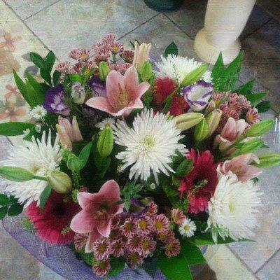ורוד אלגנטי - דבי פרחים - קרית ביאליק