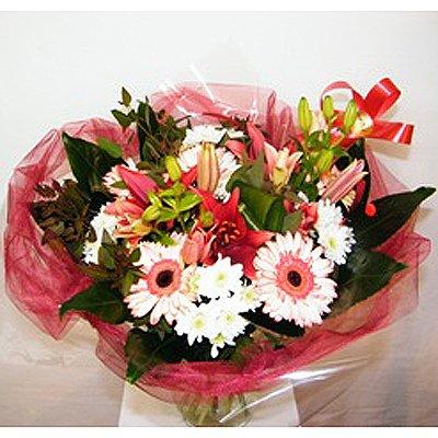 זר אדמדמם 31  - רנה פרחים - מעלה אדומים