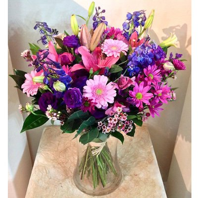 זר אושר ועושר - אורכידאה פרחים - חדרה