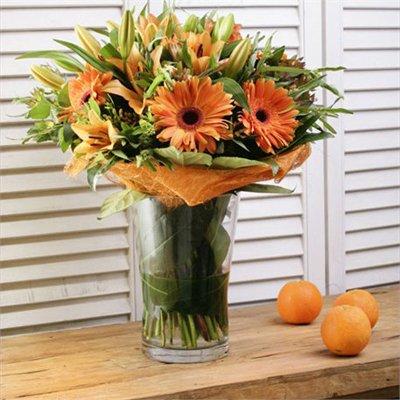 זר בכתמים - בר פרחים וכלים - אשקלון