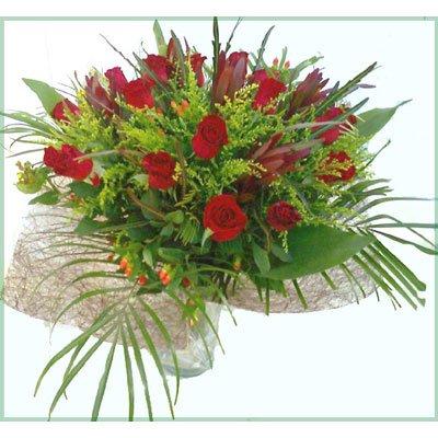 זר ורדים - פרח וסימפטיה - זכרון יעקב