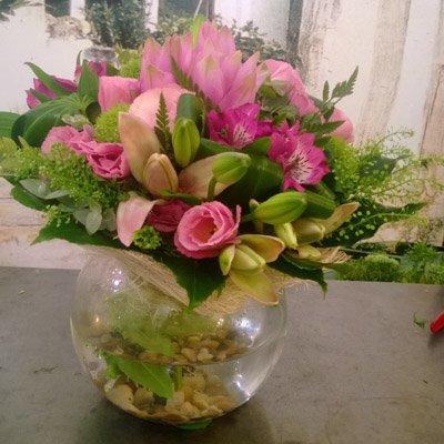 זר ורדים - בר פרחים וכלים - אשקלון