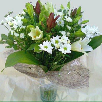 זר חגיגי - פרח וסימפטיה - זכרון יעקב