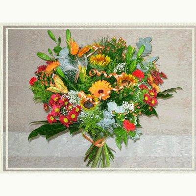 זר כפרי - פרחי אורית - עכו