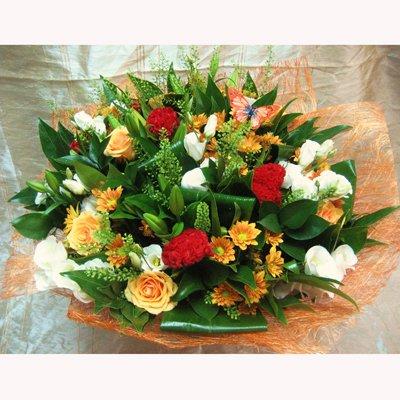זר מעוצב 2 - פרחי צבר - רמת השרון