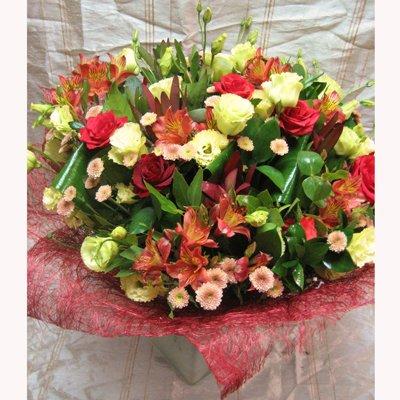 זר מעוצב 5 - פרחי צבר - רמת השרון