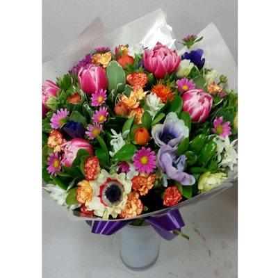חורפי צבעוני ומעורב - פרחי צבר - רמת השרון