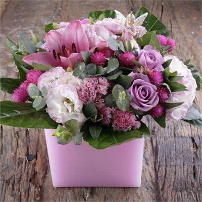 חיבוק בורוד בנר חלול - בר פרחים וכלים - אשקלון