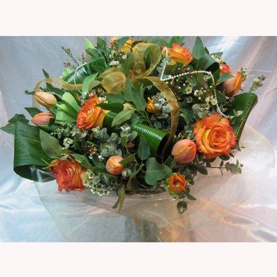 זר טוליפים מעורב חורף - פרחי צבר - רמת השרון