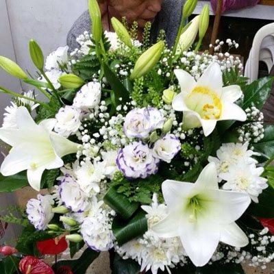 זר פרחים 1 - פרחי ענבל - רמלה
