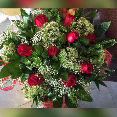 זר פרחים 10 - פרחי ענבל - רמלה