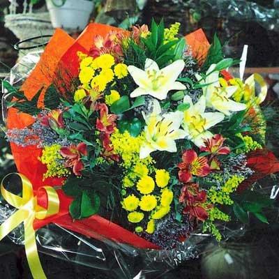 זר 11 - פרחי ספיר - באר שבע