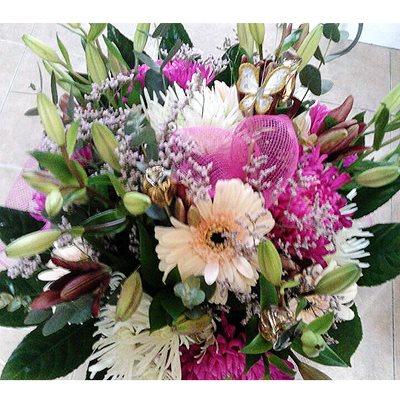 זר פרחים 11 - פרחי דליה – לוד - לוד