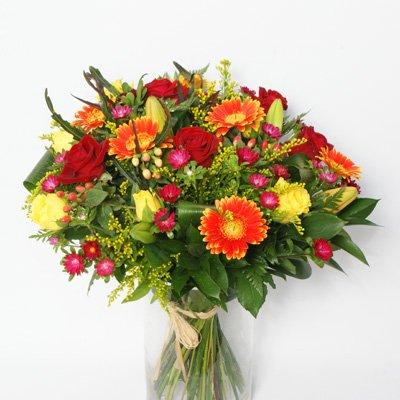 זר 12 - פרחי אלונה - טבריה