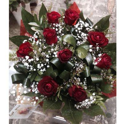זר פרחים 12 - פרחי ענבל - רמלה