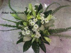 זר 13  - פרחי ספיר - באר שבע