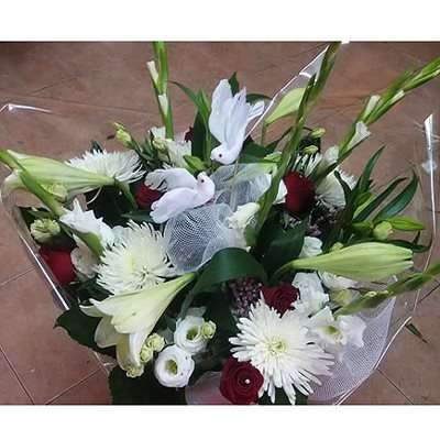 זר פרחים 13 - פרחי דליה – לוד - לוד