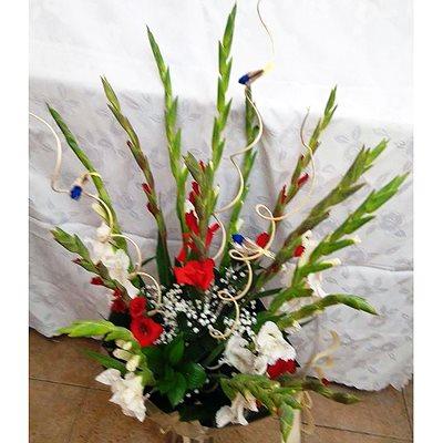 זר פרחים 14 - פרחי דליה – לוד - לוד