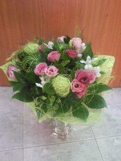 זר 15 - פרחי ספיר - באר שבע