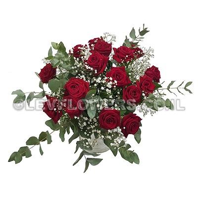 פרחים לאהובה מק''ט 208 - פרחי לב - כרמיאל