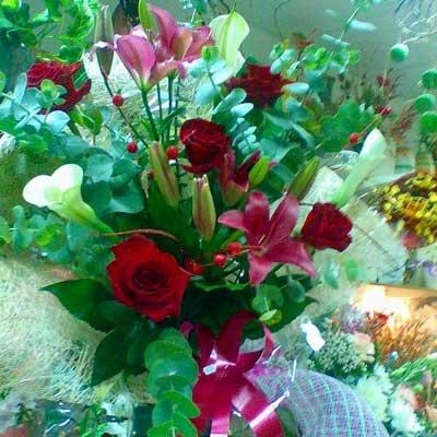 זר 16 - פרחי ספיר - באר שבע