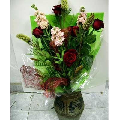 זר 17 - פרחי ספיר - באר שבע