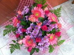 זר 18 - פרחי ספיר - באר שבע