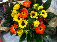זר 23 - פרחי ספיר - באר שבע