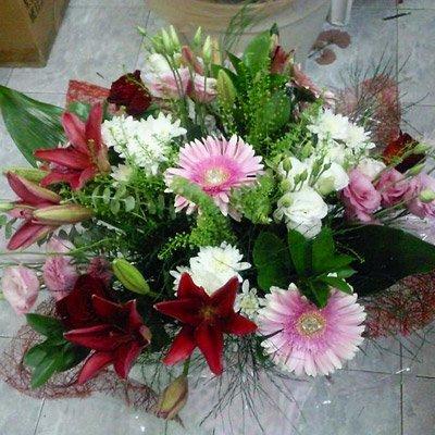 זר 25 - פרחי ספיר - באר שבע