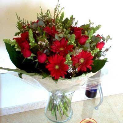 זר 27  - פרחי אביה - ירושלים