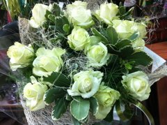 זר 28 - פרחי ספיר - באר שבע
