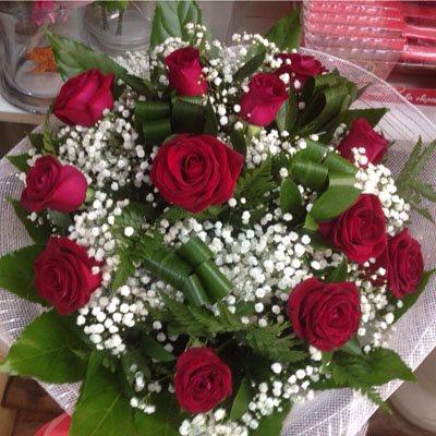זר פרחים 3 - פרחי ענבל - רמלה