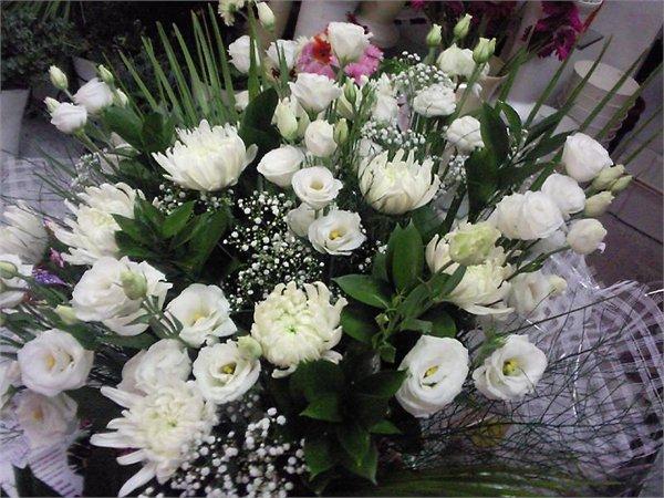 זר 30 - פרחי ספיר - באר שבע