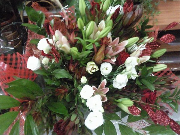 זר 31 - פרחי ספיר - באר שבע