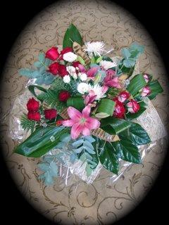 זר 33 - פרחי ספיר - באר שבע