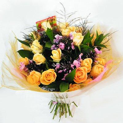 ורוד כתום 33 - רנה פרחים - מעלה אדומים