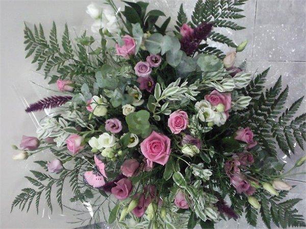 זר 34 - פרחי ספיר - באר שבע