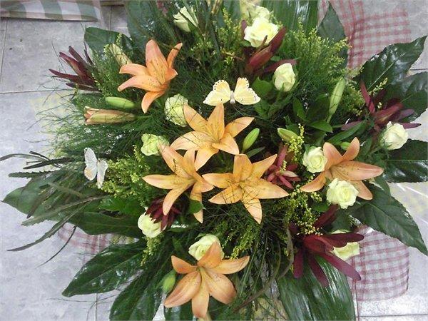 זר 35 - פרחי ספיר - באר שבע