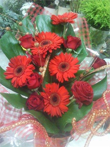 זר 37 - פרחי ספיר - באר שבע