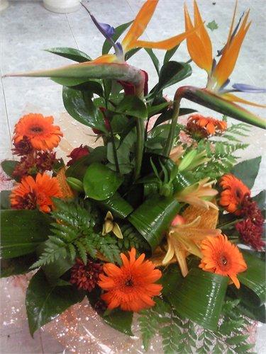 זר 39 - פרחי ספיר - באר שבע