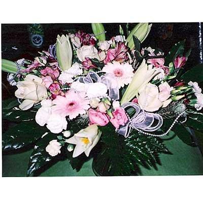 זר 4 - פרחי ספיר - באר שבע