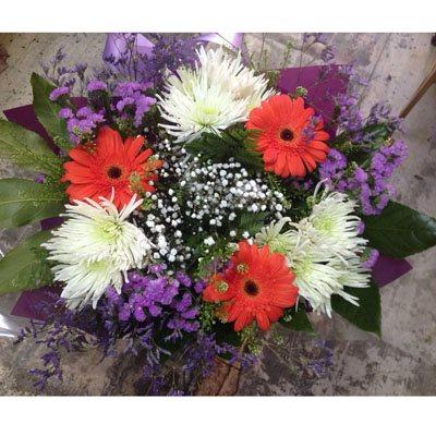זר פרחים 4 - פרחי ענבל - רמלה