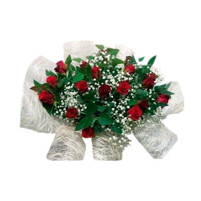 410 זר ורדים אדומים - הפינה הירוקה - בית שמש