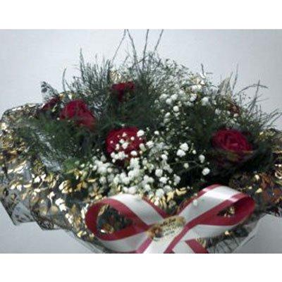 421 זר ורדים אדומים - הפינה הירוקה - בית שמש