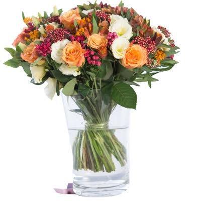 זר 45  - פרחי אביה - ירושלים